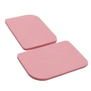 China Pink 25 Shore 200x400mm Heat Sink Rubber Pads on sale