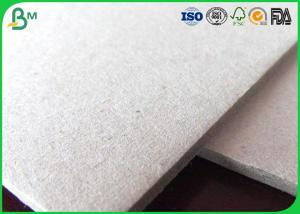 China Uncoated Grey Board Paper Custom Size 300gsm - 3150gsm For Shoes Box wholesale