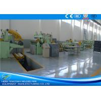 25 Strips Steel Slitting Lines 380V , Galvanized Steel Coil Cutting Machine