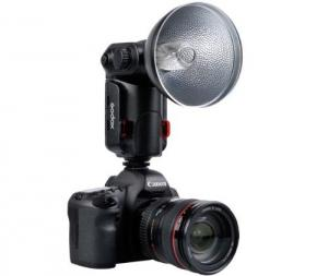 China Godox AD180 Witstro High Power Portable External Speedlite Flash for DSLR Canon on sale