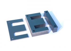 China Forma de acero de la base de hierro del transformador del silicio no orientado del reactor E-I en frío on sale