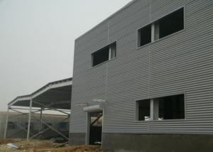 China Big cannopy double storey steel structure workshop with office room on sale