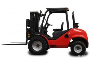 China 2.5ton all terrain forklift truck CPCY25 on sale