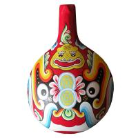 2018 hot sale chinese gift Traditional Handicrafts Facial Masks Wooden Ladle