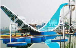 China Hot selling Fiberglass Water Slides wholesale of Water Park Equipment in China on sale