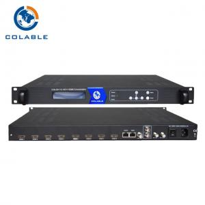 China 8 Channel ISDB T HD Encoder Modulator H.264 Video Encoding To ISDB - T Output on sale