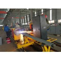 China Three Phase Metal Pipe Cutting Machine , Cnc Tube Cutting Machine ZLQ-65 on sale