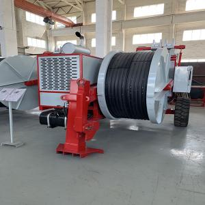 China 400KV Twin Bundle 12Ton Overhead Line Stringing Equipment Hydraulic front stabilizer on sale