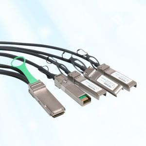China AWG30 4 x 10GbE QSFP+ Twinax Copper Cable 3 Meter For Arista CAB-Q-S-3M on sale