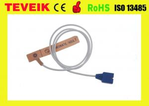 China Disposable DS100A Nellcor Oximax Spo2 Sensor Medaplast With 9 Pin Connector on sale