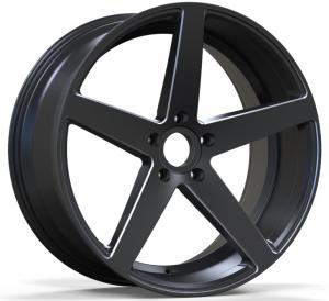 China 5 holes alloy car wheel rims 20/22 inch black star new wheels on sale