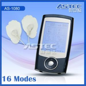 China mini tens acupuncture therapy machine massager AS1080 on sale