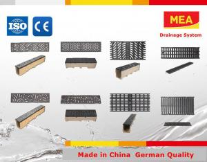 MEA Polymer Concrete Drainage Channel ,trench drain channel