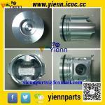 Piston de Yanmar 41R18N 41R18T de pièces de moteur du compresseur d'air d'Ingersolland P185WIR XP185AWIR 15896434 16539348 avec l'anneau