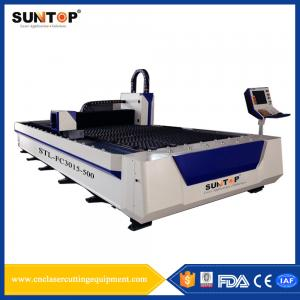 China Titanium Alloy Silicon Steel Cutting Machine 1500 * 3000mm 380V/50Hz on sale