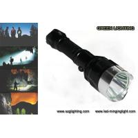 IP67 10W Rechargeable Torch Light , 25000 Lux 1200 High Lumen Flashlight
