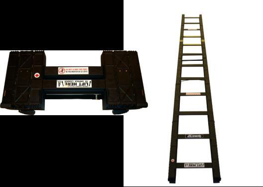 Cast Aluminum Alloy Tactical Assault Ladders Foldable