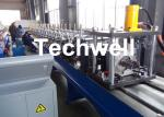 Shelf Roll Forming Machine / Cable Tray Forming Machine for Steel Rack, Steel Shelf