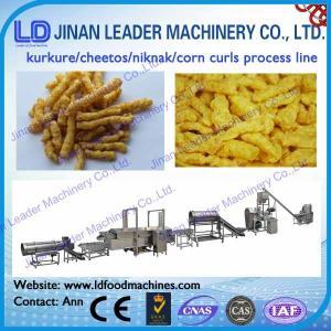 China kurkure makine equipment nik naks processing line cheetos processing machine on sale