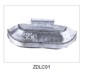 China Grampo-No tipo pesos de equilíbrio da roda da liga de Plumbum com material da ligação on sale