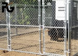 China Farm 5ft Black Chain Link Fence , White Vinyl Coated Chain Link Fence on sale