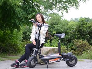 China 48V Two Wheel Electric Scooter For Adults / 1000W Electric Moped Scooter on sale