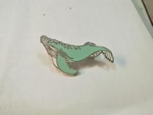 China Zinc Alloy Animal Enamel Lapel Pins , Custom Pins No Minimum Nickle Plating on sale