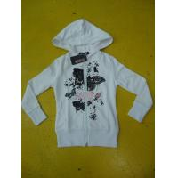 China Personalized Fench Terry Ladies Zip Up Hoodies Girls Zip Front Hoodie Casual Wear on sale