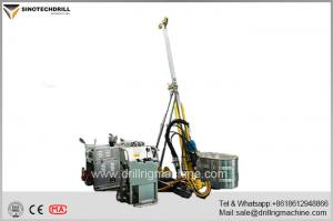 China Lightweight hydraulic Core Drill Rig 600 meter capacity 650NM torque on sale