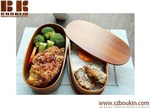 China Wooden Kitchenware lunch fast food box for kinds on sale