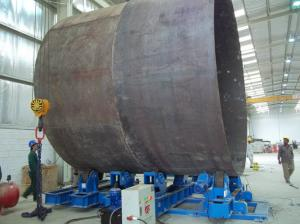 China Durable Hydraulic Tank Turning Rolls HGK Series High Pressure supplier