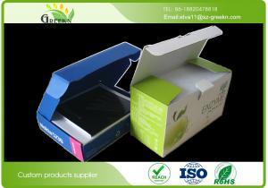China Die Cutting Cardboard Packaging Boxes , Embossing Cardboard Storage Boxes on sale