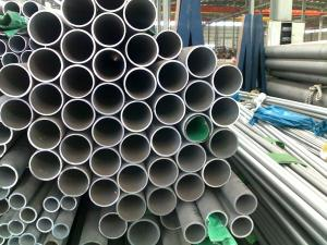 China Hot Rolled / Cold Drawn Seamless Stainless Steel Pipe 3 inch for Petroleum on sale