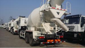 China 8 Cbm Concrete Mixer Truck 340 Hp 6×4 Drive Mode For Transport Concrete on sale