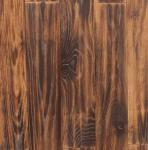 Special American Red oak wood flooring with carbonized and handscraped surface