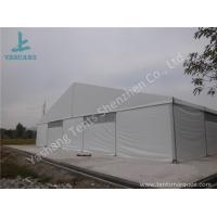 China Large Span Aluminum Frame Industrial Storage Tents , Temporary Storage Tents on sale