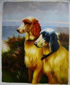 China Animal Oil Painting on sale