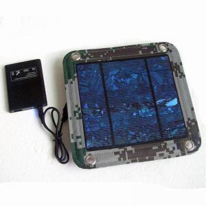 China 600D PVC Foldable Solar Panel Renewable Energy  / Foldable Solar Charger For IPhone on sale