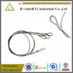 7X19 Single Leg 1/4 Steel Wire Rope Sling