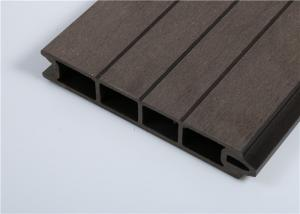 China Extruded Technic WPC Wall Cladding / Capped Composite For Building Decoration on sale