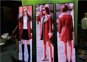 China Indoor HD P2.5 Led Poster Screen Video Advertising Screen 3G 4G Wifi For Shop Stand on sale