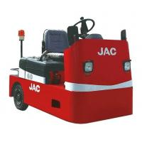 4 Wheel Platform Truck , AC Power System , 6000KG Traction Weight , JAC Electric Tow Vehicles , High Performance