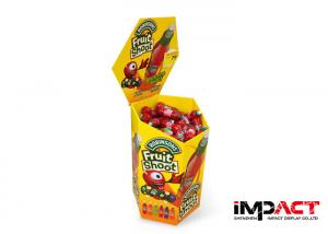 China Supermarket Retail Dump Bin Display For Tomato Sauce , Cardboard Display Bins on sale