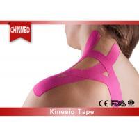 Elastic Cotton Kinesiology Therapeutic Tape , Medical Bandage Tape