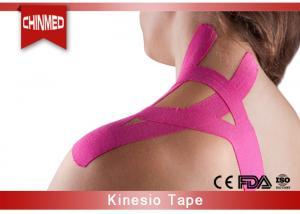 China Elastic Cotton Kinesiology Therapeutic Tape , Medical Bandage Tape on sale