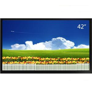 China IR Remote Control Security CCTV LCD Monitor 43 Inch Fast Response Full Hd on sale