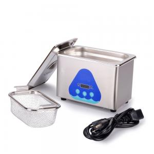 China 0.8L Mini Portable Household Ultrasonic Cleaner SUS Stainless Material 42Khz on sale