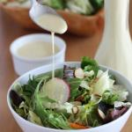Fresh Sweet Salad Dressing and Salad Sauce