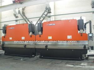 China Bending Tandem Press Brake Equipment / Servo Hydraulic Press 250T Force on sale