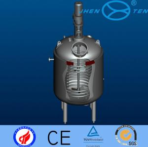 China SUS304 / SUS316 Pressure Chemical Process Reactors For Hydrolysis / Neutralization on sale